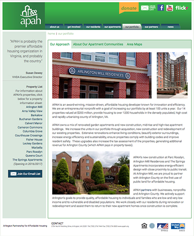APAH Website