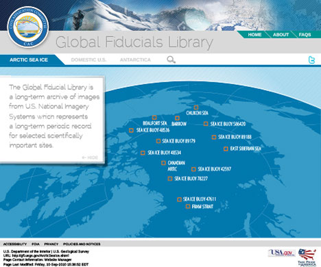 Global Fiducials Library